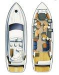 thumbnail-5 Fairline Boats 44.0 feet, boat for rent in Kvarner, HR