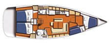 thumbnail-9 Beneteau 43.0 feet, boat for rent in Ionian Islands, GR