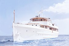 Beautiful and unique motor yacht for special events