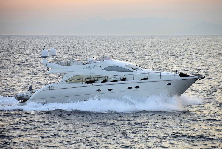 Enjoy an overnight stay on this luxurious boat in the Mediterranean