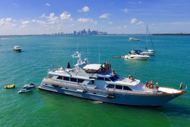 Yacht Party Rental - 103' Broward!