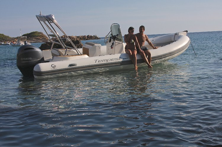 Rigid inflatable boat rental in Marina de Lagos, Portugal