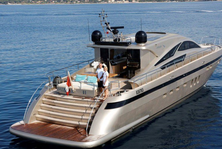 This 78.0' Jaguar cand take up to 20 passengers around Cannes