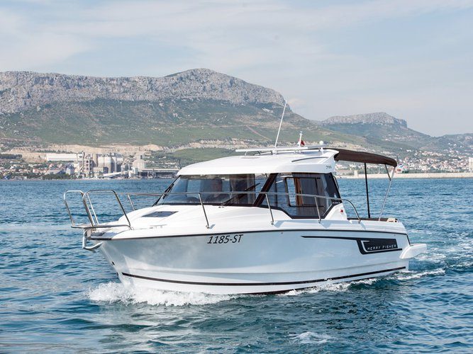 Enjoy Split region in style on our Jeanneau