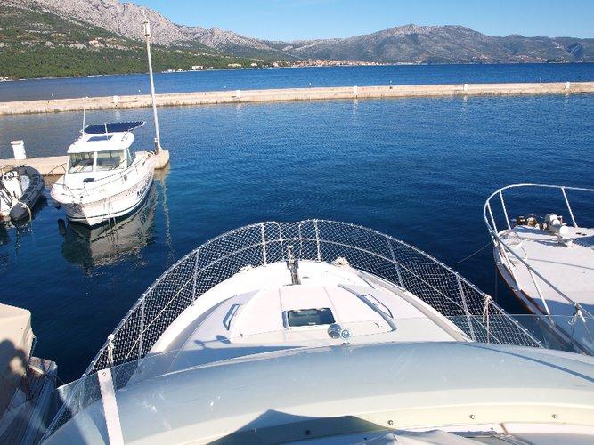 Motor yacht boat rental in Marina Split - ACI , Croatia