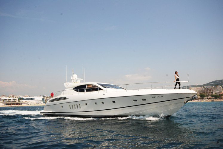 Motor yacht boat for rent in Cannes