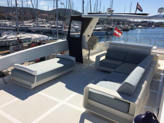 Boat for rent Overblue 44.0 feet in Marina Mandalina, Sibenik,