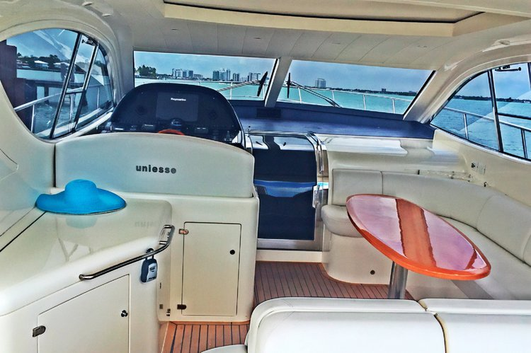 Boat for rent UNIESSE 54.0 feet in Haulover Marina, FL