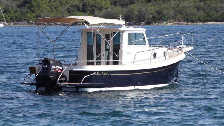 Boat for rent Leidi 23.0 feet in Marina Mali Losinj, Croatia