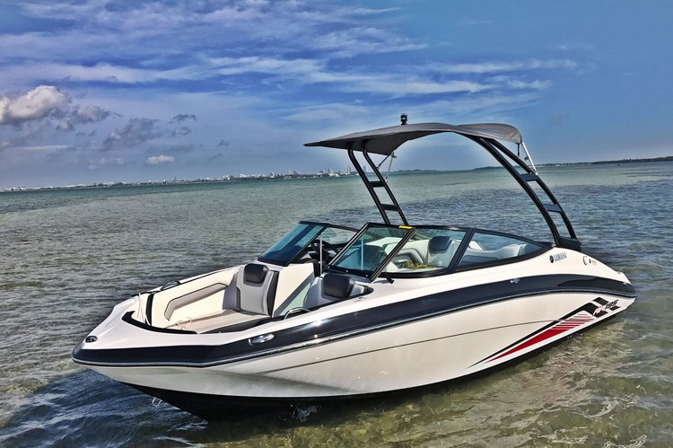 2017 Yamaha Jet Boat Supercharged - Fuel included