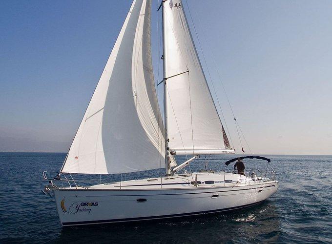 Discover Split region surroundings on this Bavaria 46 Bavaria Yachtbau boat