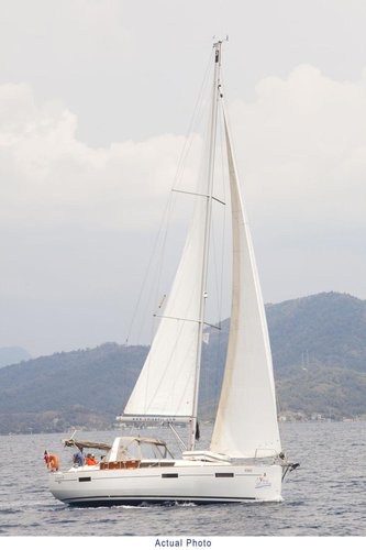 Sail Aegean waters on a beautiful Bénéteau Oceanis 41