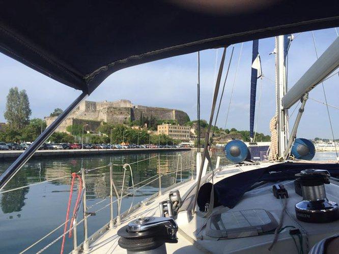 Boat for rent Jeanneau 46.0 feet in Corfu (Gouvia marina),
