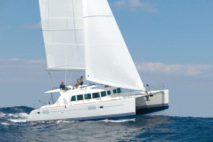 Sail Greece in this Luxurious Catamaran!