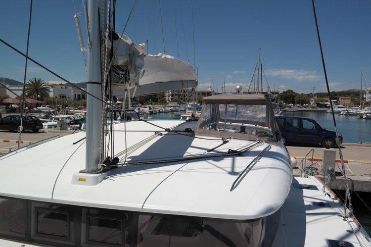 Boat for rent Lagoon-Bénéteau 39.0 feet in Balearic Islands,