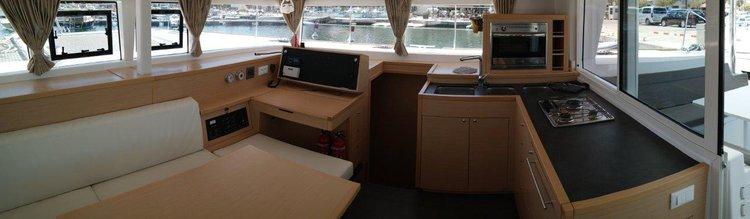 Catamaran boat rental in Balearic Islands,