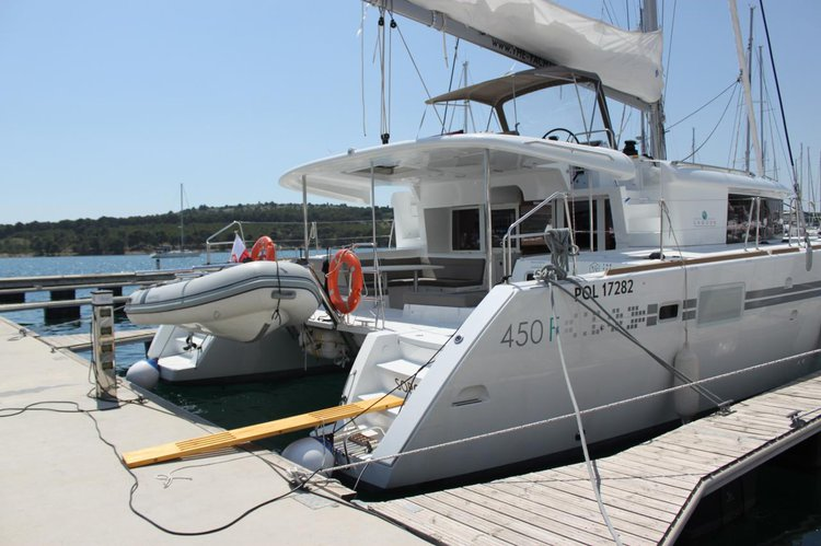 Boat for rent Lagoon-Bénéteau 45.0 feet in Marina Mandalina, Sibenik, Croatia