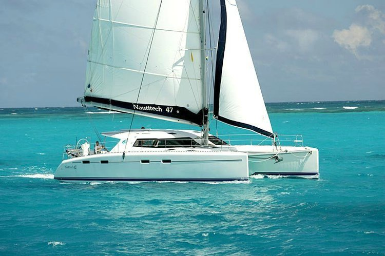 Beautiful Nautitech catamaran for inspirational charters throughout Greece