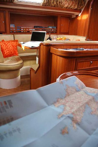 Discover Dodecanese surroundings on this Ocean Star 51.2 Ocean Star boat