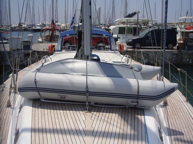 This 54.0' Ocean Star cand take up to 12 passengers around Saronic Gulf