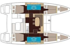 thumbnail-2 Lagoon 39.0 feet, boat for rent in Alimos,