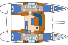 thumbnail-2 Lagoon 45.0 feet, boat for rent in Alimos,