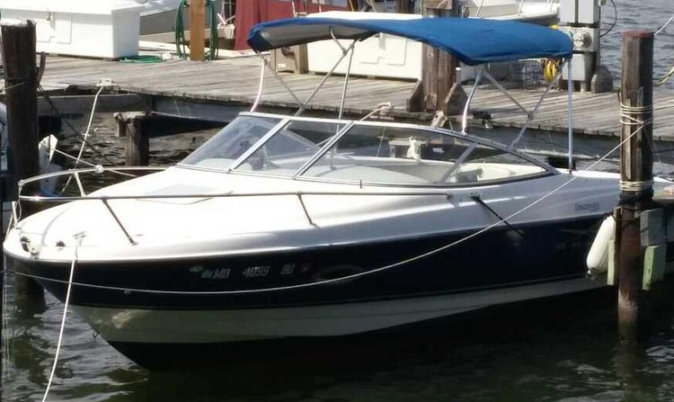21 Bayliner Cuddy in Good Condition