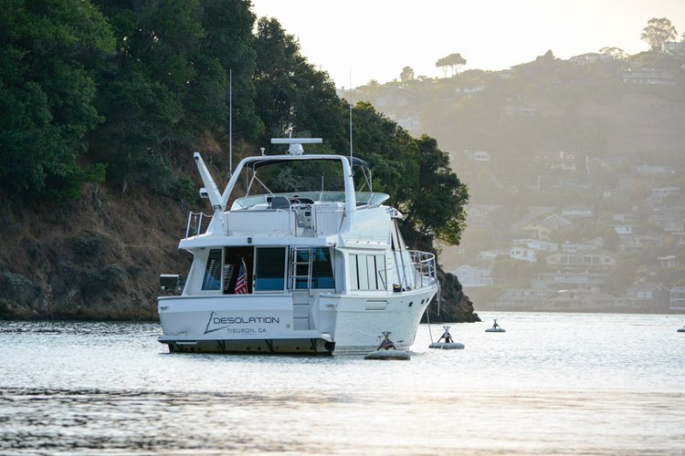 Bayliner's 54.0 feet in Sausalito