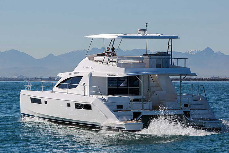 This Leopard 51 brand new power catamaran can offer an unforgettable cruise