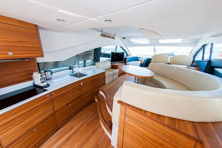 Motor yacht boat rental in Marina Split,