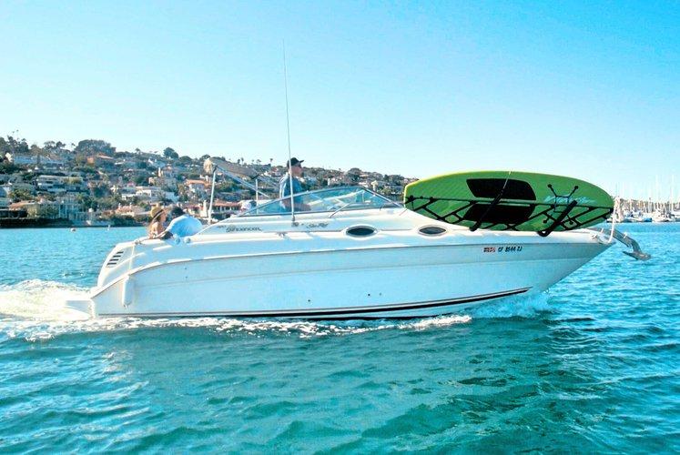 Cruiser boat rental in Cabrillo Isle Marina, CA