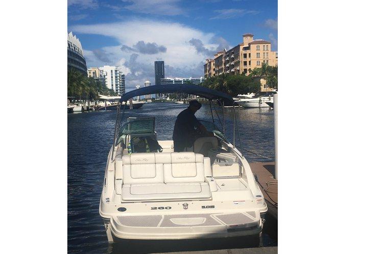 Boat rental in Dania, FL