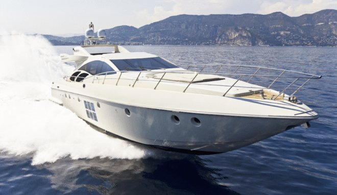 Azimut boat for rent in Nice