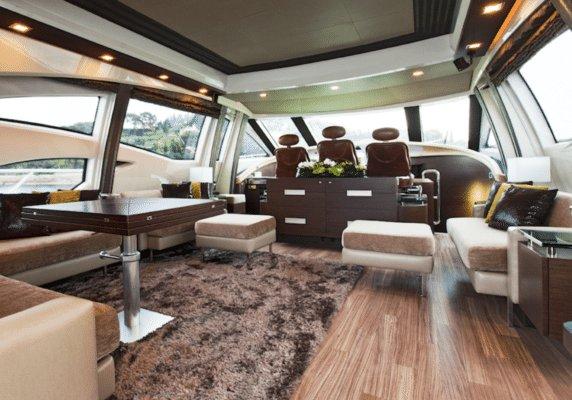 Motor yacht boat rental in Nice, France