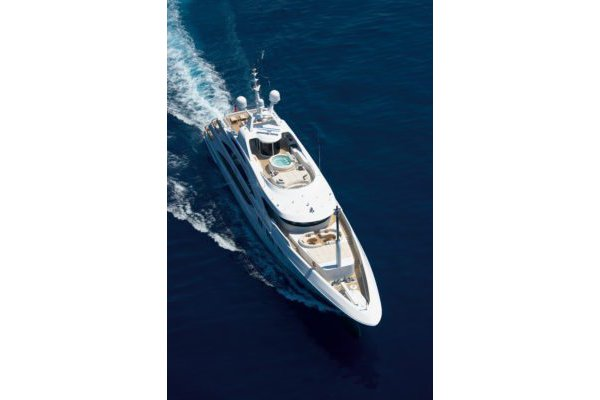 Benetti's 196.85 feet in
