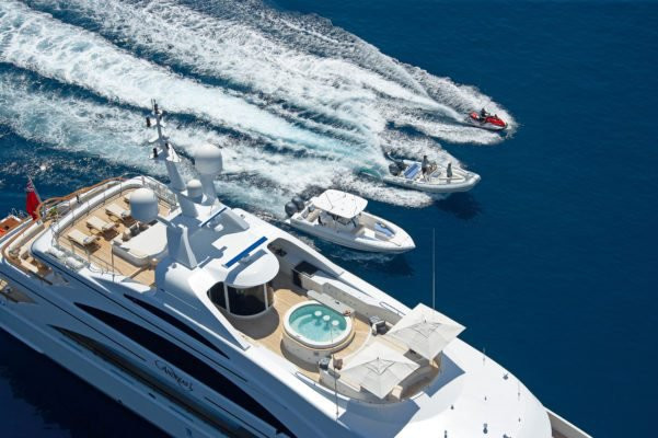 Boating is fun with a Mega yacht in