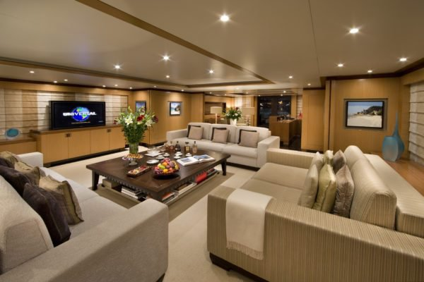Discover  surroundings on this 1 Benetti boat