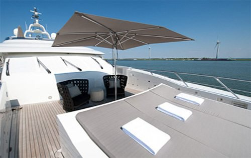 Discover Cannes surroundings on this Custom Dutch Yacht Builders boat