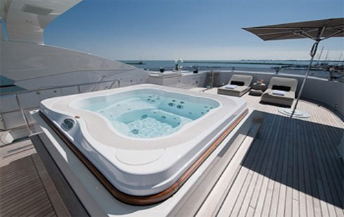 Mega yacht boat for rent in Cannes