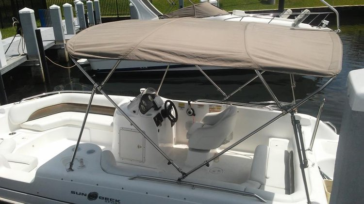 Deck boat boat for rent in Sunny Isles