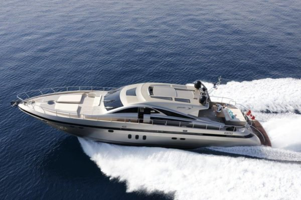 Explore the water of the Mediterranean in this Jaguar motor yacht