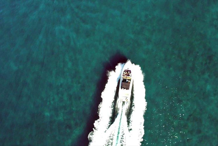 Motor yacht boat rental in Maspalomas, Spain