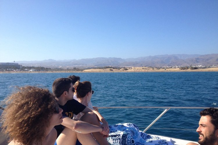 Boating is fun with a Motor yacht in Maspalomas