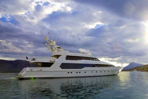 Cruise the Mediterranean Sea in this luxurious Marinteknik mega yacht