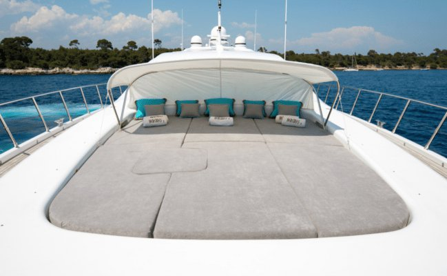 Boat for rent Overmarine 107.97 feet in Saint Tropez, France