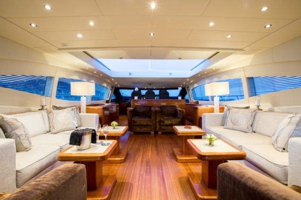 107.97 feet Overmarine in great shape