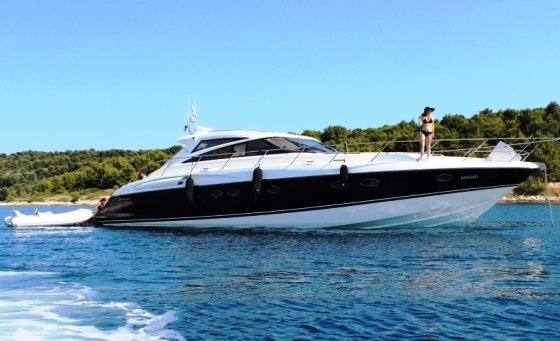 With a sleek profile and style the Princess V58 will deliver on your every dream