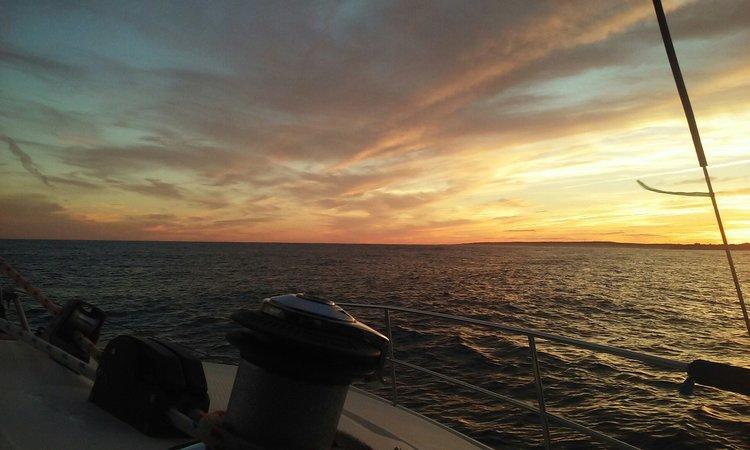 Catamaran boat rental in Georgetown,