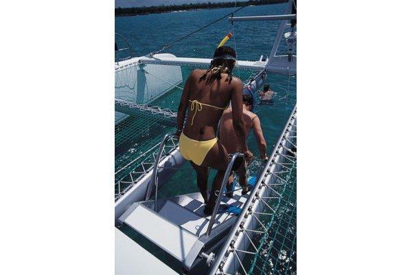 Catamaran boat rental in Antibes, France
