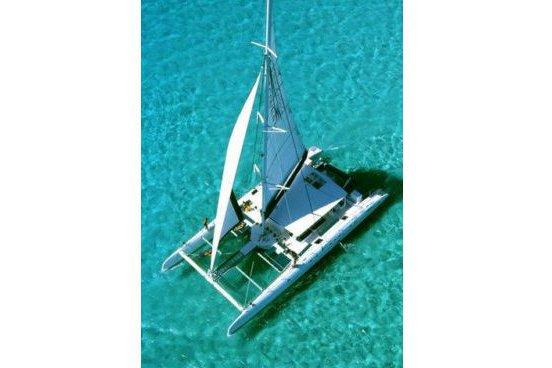 Catamaran boat for rent in Antibes